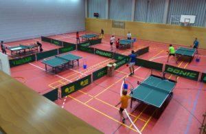 Tischtennis Haldenwang Training